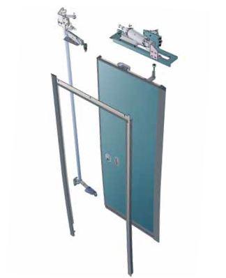 IST-P Pneumatic inward swinging doors