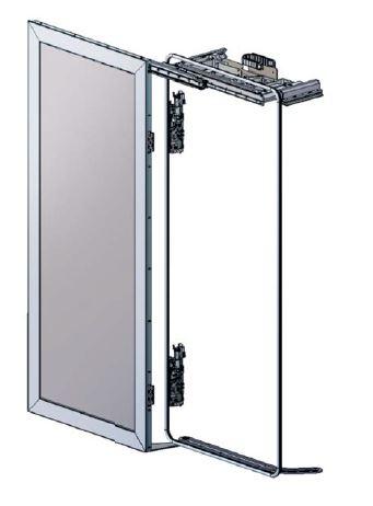 BIDS® AM-H Sliding plug door, suspended